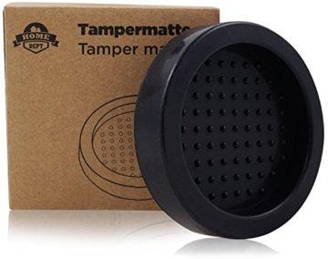 Tampermatte für Espressomaschine