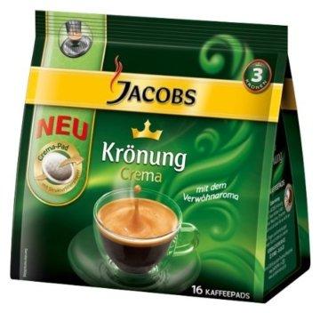 Jacobs Kaffeepads Crema